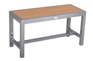 Sol Bistro Syn-Teak One/Two Seater Bench Teak Asian
