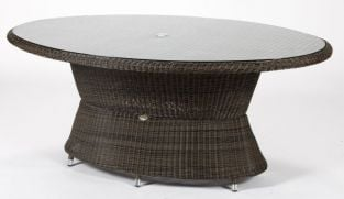 Cheltenham Oval Brown Dining Table