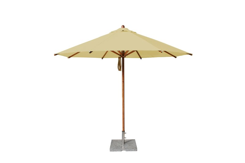 Levante 3.5m Harvest Wheat Round Parasol