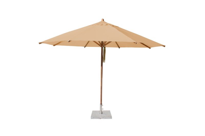 Levante 4.0m Harvest Wheat Round Parasol