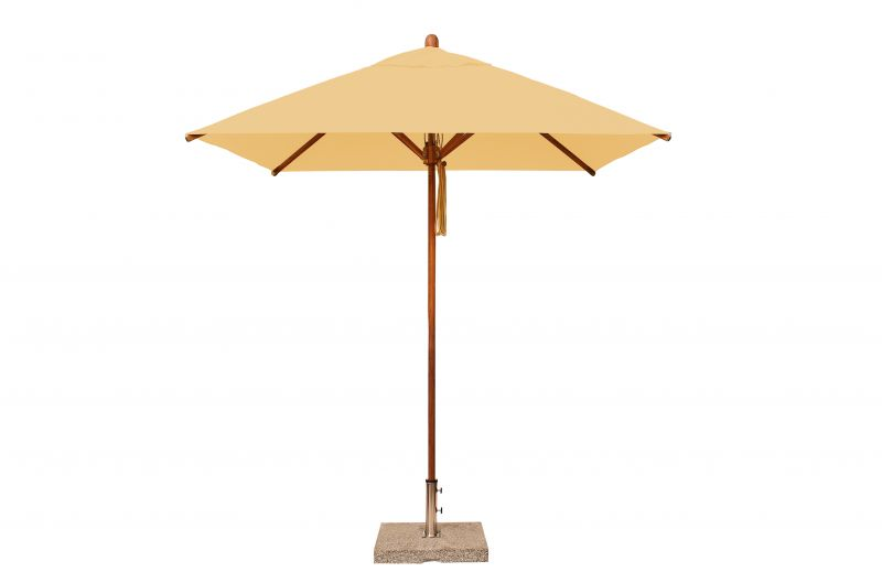 Levante 2.1m Natural Square Parasol