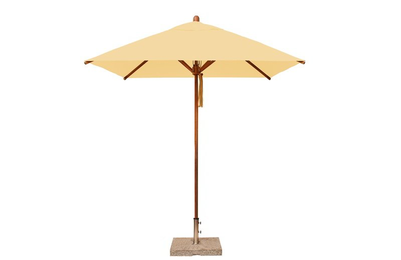 Levante 2.1m Harvest Wheat Square Parasol