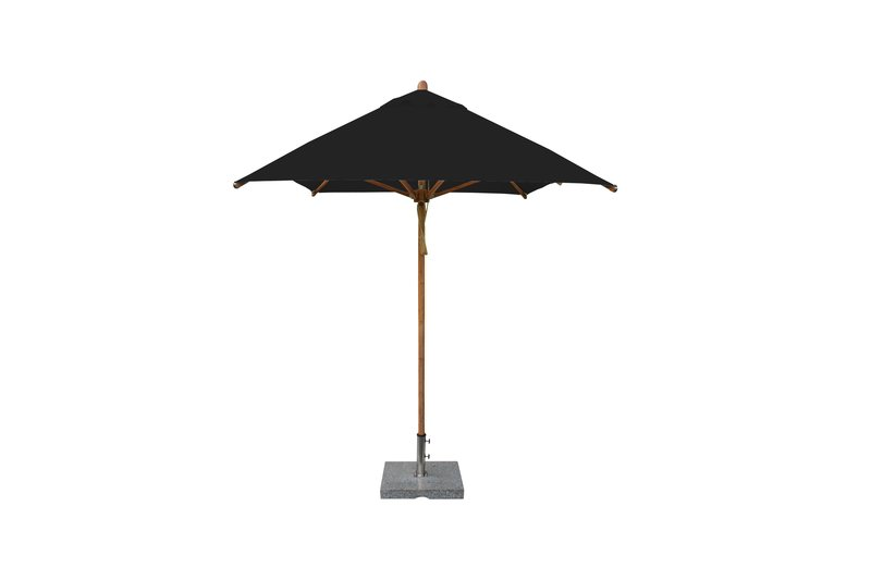 Levante 2 x3m Black Square Rectangular Parasol