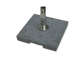 50KG Square Parasol Base Grey