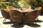 San Marino Glass Table with Ovo Chairs