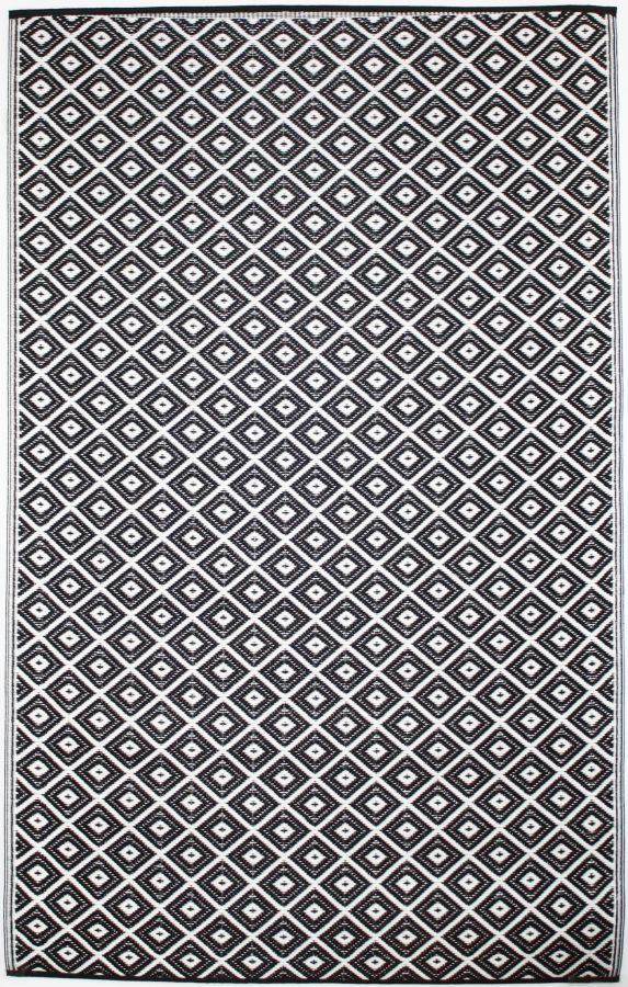 Outdoor Rug Arabian Black (120 cm x 180 cm)
