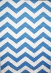 Outdoor Rug Psychedelia Blue and White (150 cm x 240 cm)