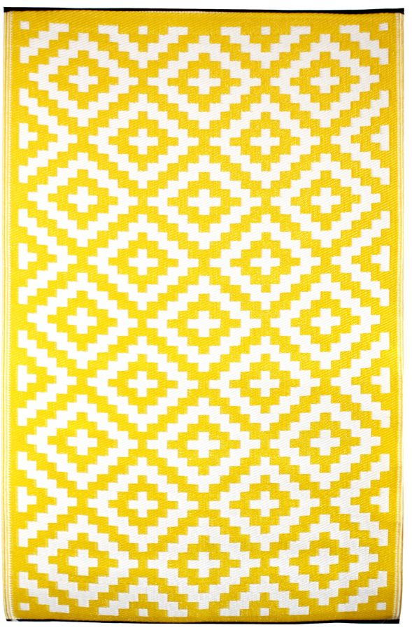 Outdoor Rug Nirvana Yellow (150 cm x 240 cm)