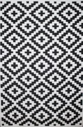 Outdoor Rug Nirvana Black and White (120 cm x 180 cm)