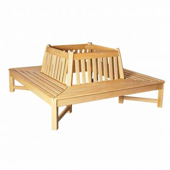 Alexander Rose Roble Square Bench Tree Seat