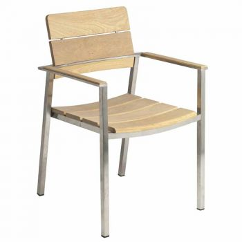 Alexander Rose Cologne Roble Stacking Armchair