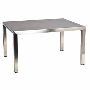 Alexander Rose Cologne 2.6m (8ft 8in) Dark Grey Ceramic Extending Rectangular Table