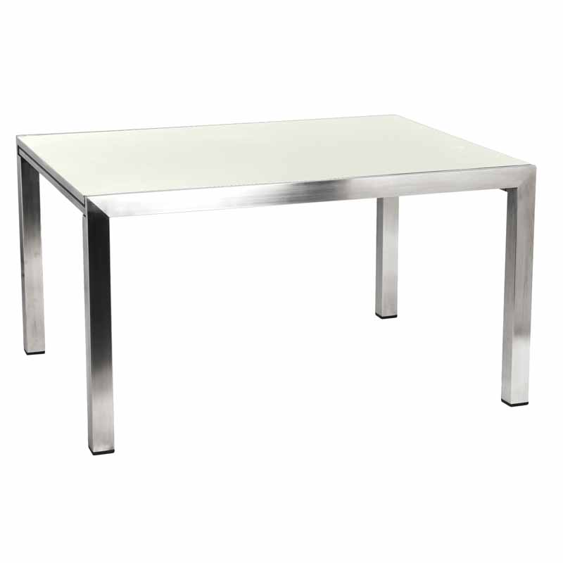 Alexander Rose Cologne 2.6m (8ft 8in) Ivory Ceramic Extending Rectangular Table