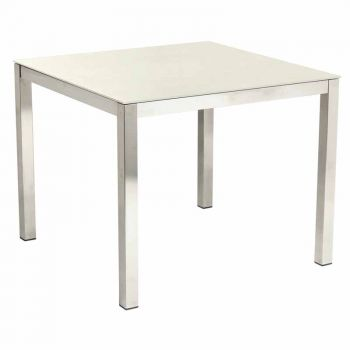 Alexander Rose Cologne 70cm (2ft 3½in) Ivory Ceramic Square Table