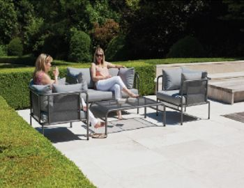 Alexander Rose Portofino 4 Seater Sofa Set