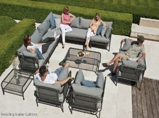 Alexander Rose Portofino 12 Seater Sofa Set