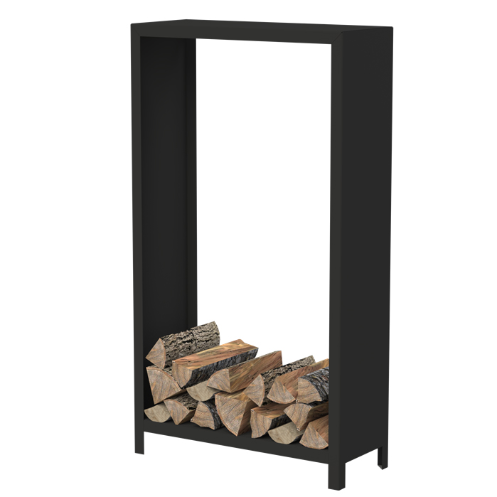 Black Coated Wood Store  - 1.8m (5ft 10in)