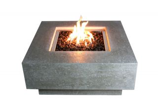 90cm Manhattan Fire Pit Table
