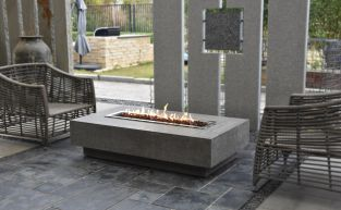 80cm Hampton Fire Pit Table