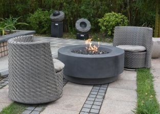100cm Ross Fire Pit Table