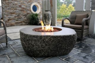 105cm Burning Rock Effect Fire Table