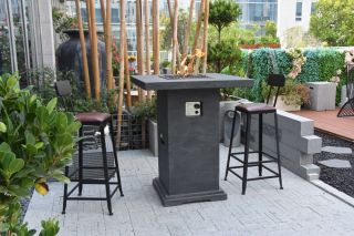 90cm Montreal Fire Pit Table