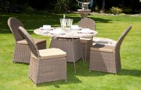Alexander Rose Monte Carlo 120cm Mosaic Top Garden Table