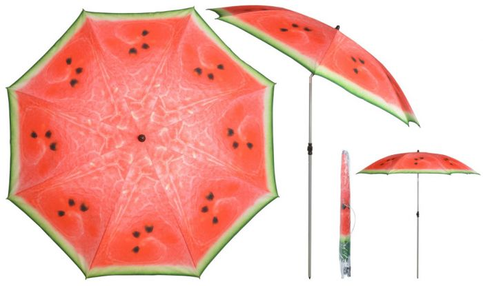 2.26m (7ft 4 in) Steel Watermelon Parasol