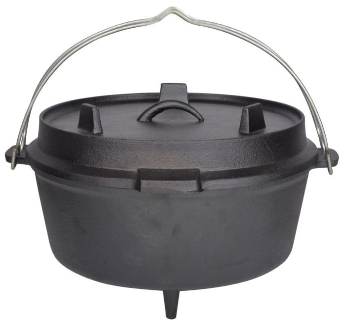12 In Dutch Oven Cooking Pot