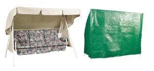 Bosmere Protector 3 Seater Green Hammock Garden Furniture Cover