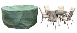 Bosmere Protector 250cm 6/8 Seater Green Patio Set Garden Furniture Cover