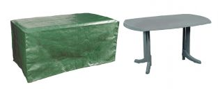 Bosmere Protector 6 Seater Green Rectangular Garden Table Cover
