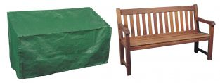Bosmere Protector 2 Seater Green Bench Garden Furniture Cover