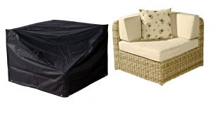 Bosmere Large Modular Corner Unit Garden Furniture Cover W93cm