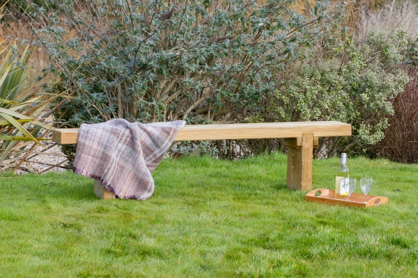 1.8m (5ft 10in) Rebecca Two Seater Garden Bench FSC® by Zest 4 Leisure®