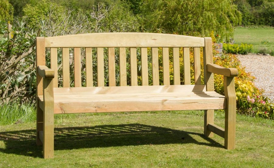 Emily Two Seater Garden Bench Fsc 174 By Zest 4 Leisure 174 163 199 99