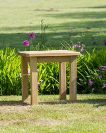 60cm (24in) Emily Garden Wooden Side Table FSC® by Zest 4 Leisure®