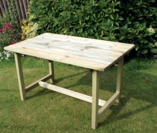 1.6m (5ft 3in) Caroline Garden Table FSC® by Zest 4 Leisure®