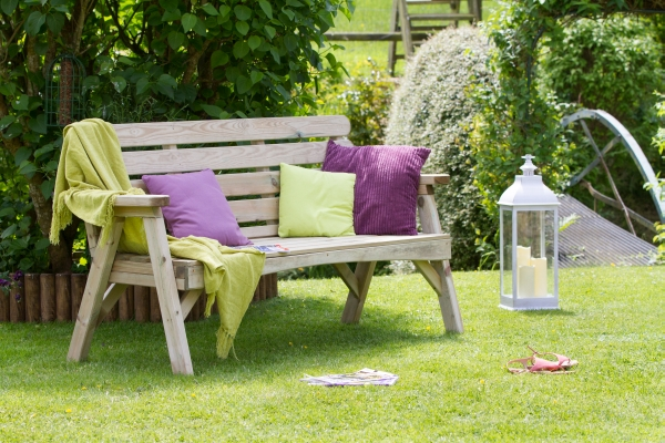 1.68m (5ft 6in) Abbey Three Seater Garden Bench FSC® by Zest 4 Leisure®