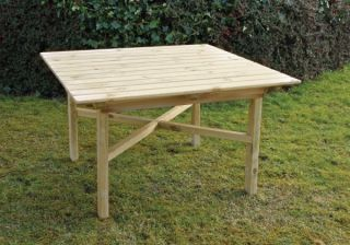 1.2m (3ft 11in) Abbey Square Garden Table FSC® by Zest 4 Leisure®