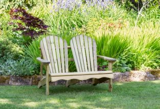 1.22m (4ft) Lily Relax Two Seater Garden Bench FSC® by Zest 4 Leisure®