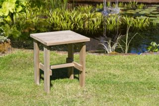 55cm (22in) Lily Wooden Garden Side Table FSC® by Zest 4 Leisure®