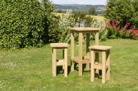 Bahama Table and 2 Stool Set