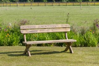Zest 4 Leisure 1.6m (5ft 3in) Harriet Wooden Garden Bench