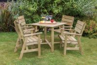 Lisa Table and 4 Chair Set