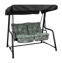 Vienna 2 Seater Swing Seat - Grey
