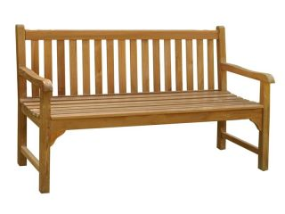Warwick 3 seat Teak Bench 150cm (4ft 11in)