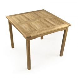 Little Warwick 4 Seater Square Teak Table 90cm (2ft 11in)