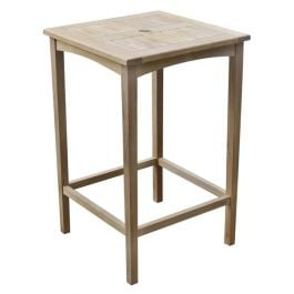 Warwick 2-4 Seater Teak Bar Table 70cm (2ft 4in)