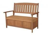 Harvest Hardwood Storage Bench L120cm x D63cm